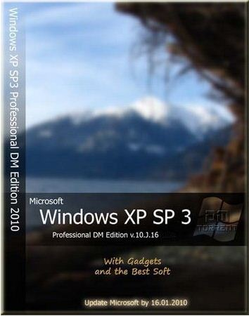 WINDOWS XP SP3 PROFESSIONAL X86 RUS DM EDITION V.10.2.14